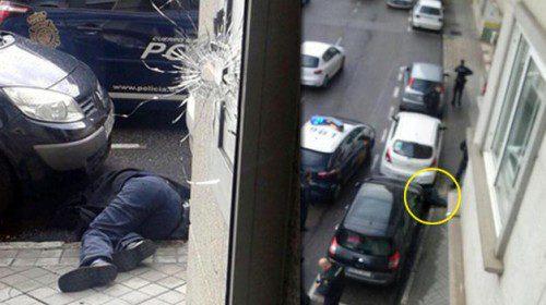 tiroteo policia en vigo