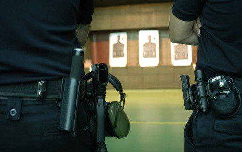 galeria de tiro policia