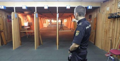 galería de tiro policial 25 metros