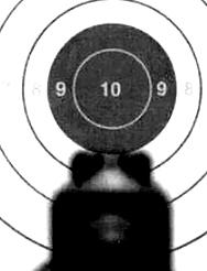 Doble tap miras pistola