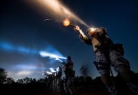 disparando en la oscuridad