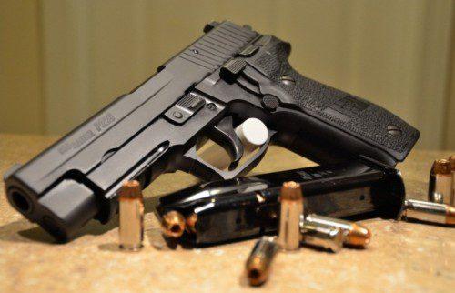 La SIG P-226, una de las mejores pistolas policiales.