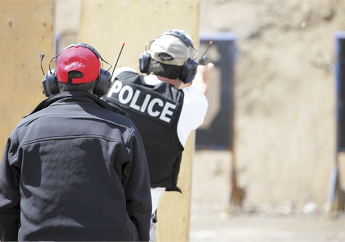 ejercicios OODA tiro policial