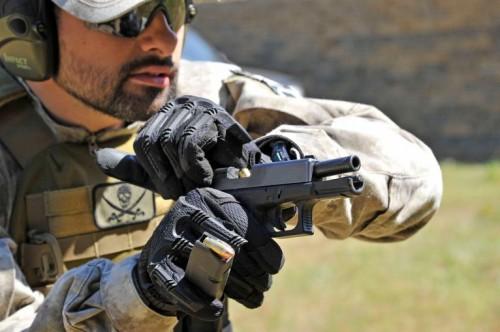 resolución de encasquillamientos pistola