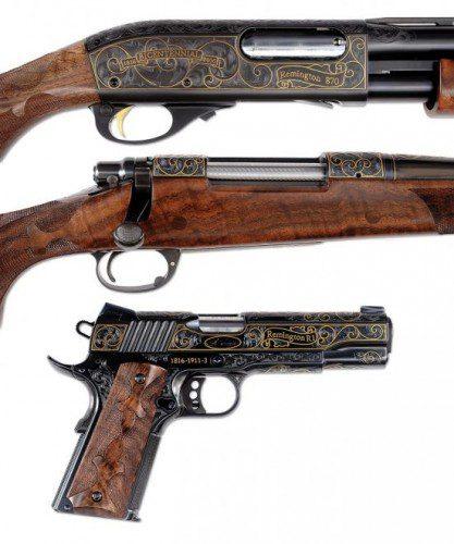"""Remington anuncia la subasta su """"Edición especial bicentenario"""""""