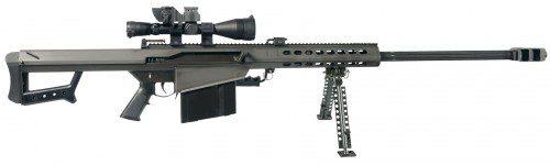 Barrett M82 fusil de alta potencia