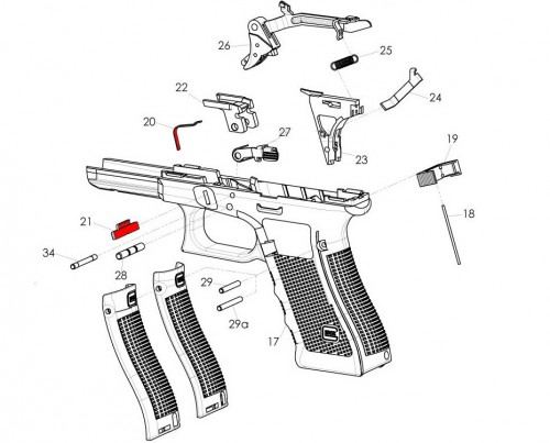 despiece glock gen4