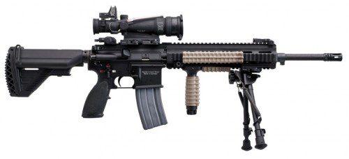 HK 416, nuevo fusil del ejército francés.