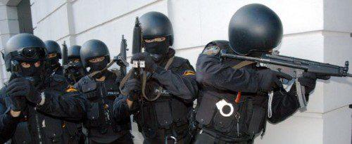 intervención policial impacto bala