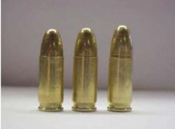 cartucho pistola acoratado alargado