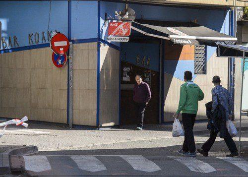 Imagen de la fachada del bar de Alsasua ante el que se produjo la agresión a los guardias civiles