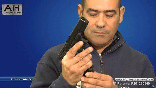 Juan racero automatic holster