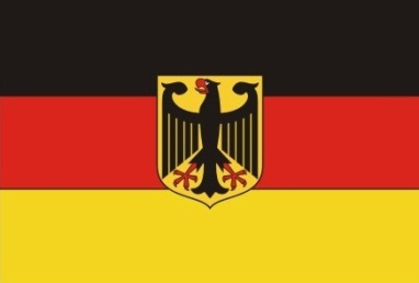 bandera alemana proyectil punta hueca