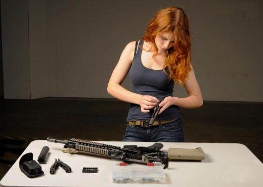 Las mujeres y las armas