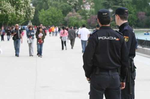 policías patrulleros
