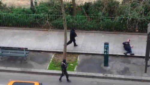 asesinato policia paris atentado terrorista