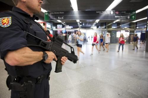 vigilancia policial atentado terrorista estaciones tren