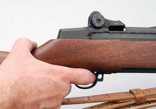 Palanca de seguro fusil Garand M1