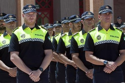 policías locales en prácticas Andalucía