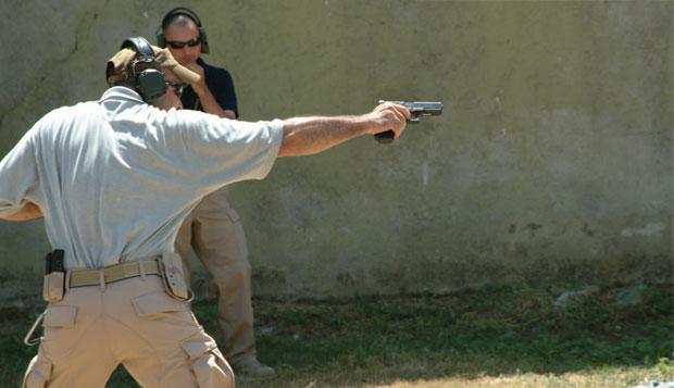 entrenamiento tiro policial