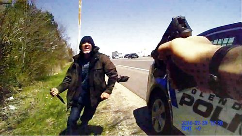 intento de homicidio policia