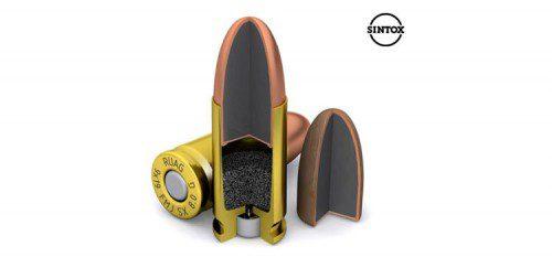 gadolinio munición bala
