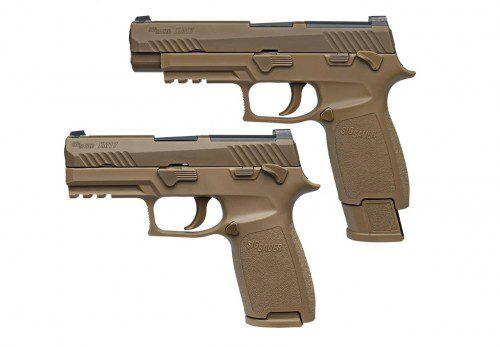 nueva pistola ejercito americano