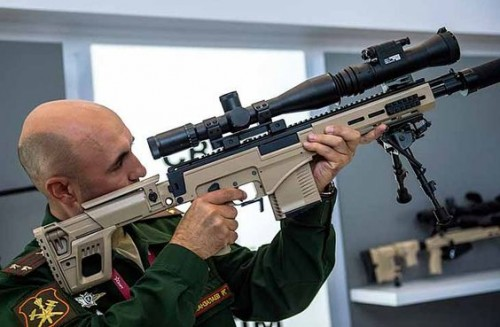 Fusil de francotirador SVK
