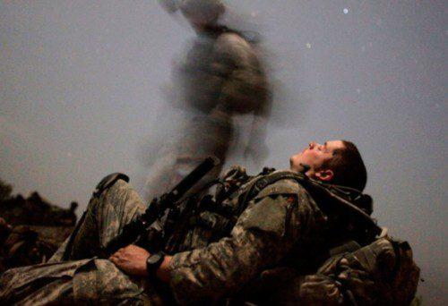 soldado cansancio