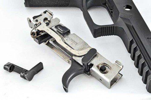 marco acero inoxidable pistola sig sauer p320