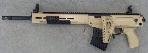 Fusil de francotirador SVK culata abatible