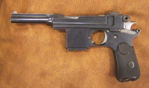 Bergmann Mars 1903, la primera pistola del Ejército español