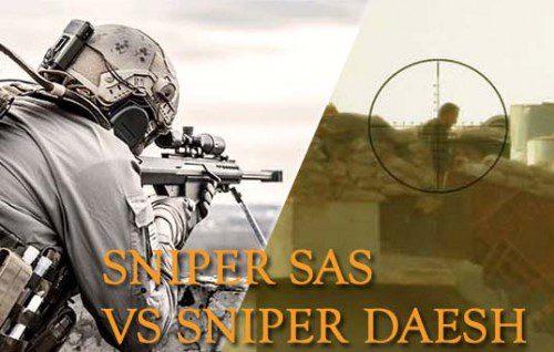 Francotirador del SAS vs francotirador del Daesh