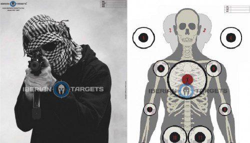 blancos de papel iberian targets