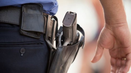 funda tiro policial