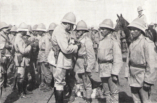Francisco Gómez-Jordana pistola bergmann guerra de áfrica