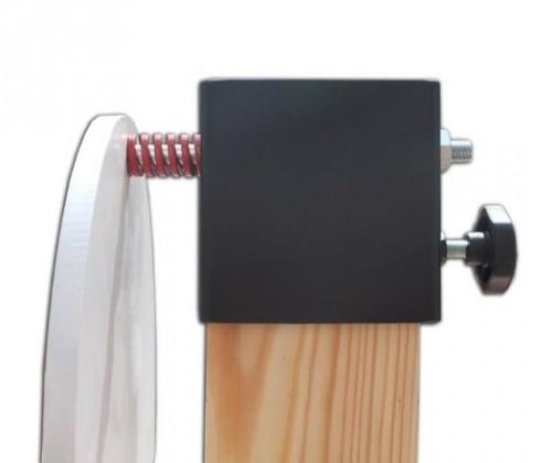 sistema de sujeción de blancos con muelle especial de compresión