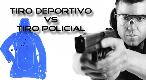Tiro Deportivo de acción versus Tiro Policial