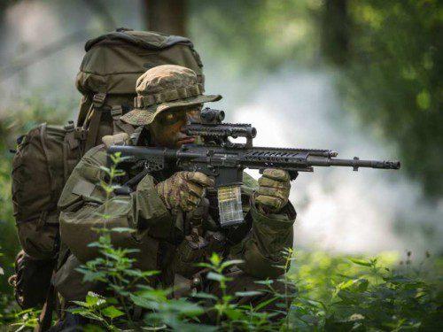 Rheinmetall y Steyr Mannlicher presentarán el rifle de asalto modular RS556