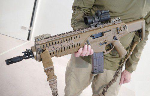 El fusil italiano Beretta ARX160