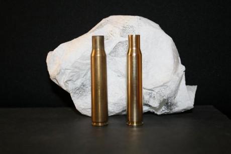 limpieza vainas recarga munición