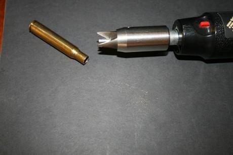 chafranear desbarbar vainas recarga munición