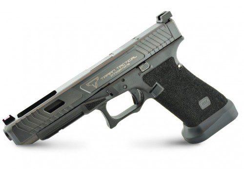 punteo grip pistola glock