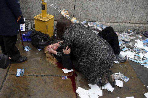 Imágenes del atentado de Londres del pasado marzo
