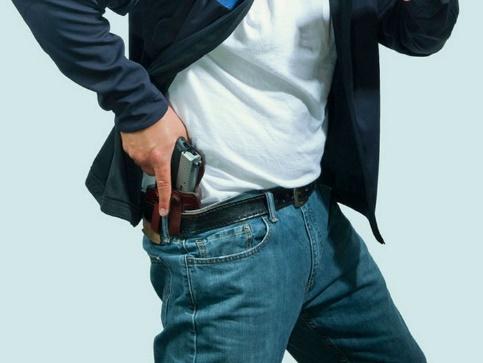 desenfunde arma pistola porte oculto
