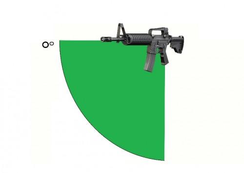 canteo vertical fusil