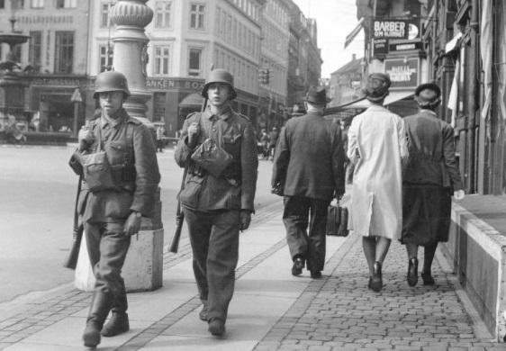 soldados alemanes en copenhague