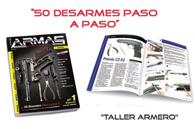 "Guía ""50 Desarmes paso a paso"" armas internacional"