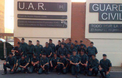 El CAE (Centro de Adiestramientos Especiales) GUARDIA CIVIL