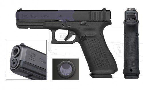 cambios cañón pistola glock gen5